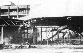 1973 Feuer im Esso-Motor-Hotel